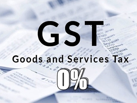 What To Expect When GST becomes 0%