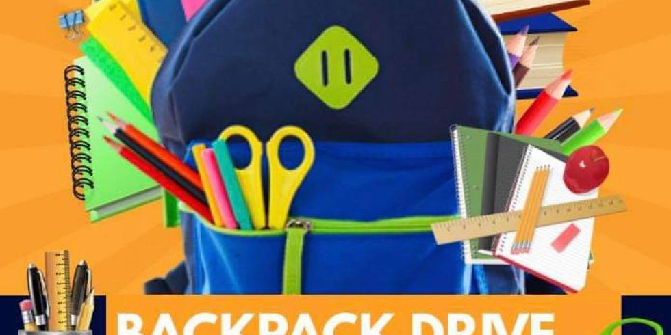 Backpack Drive in River Oaks!
