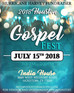 Press Release: Houston Gospel Fest