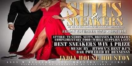 Suits & Sneaker Scholarship Ball!