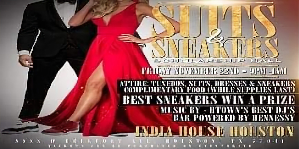 Suits & Sneaker Scholarship Ball