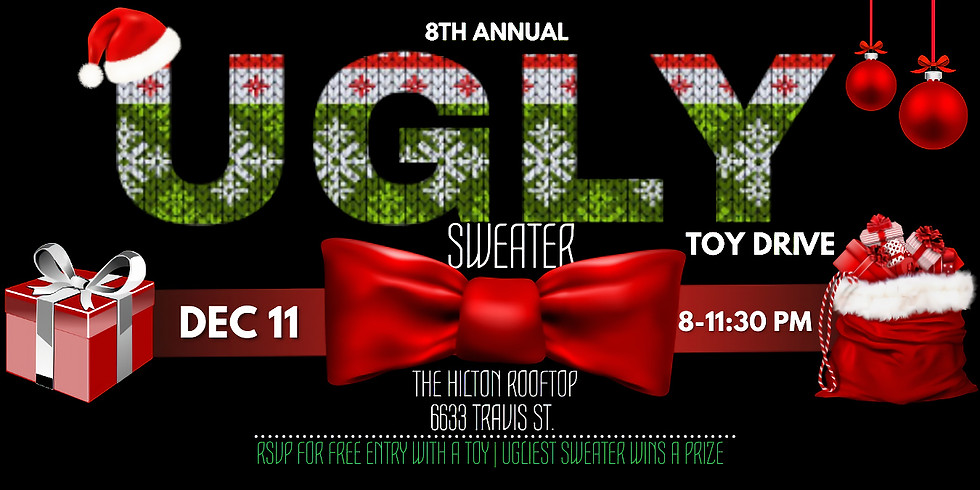 8th Annual Ugly Sweater Toy Drive
