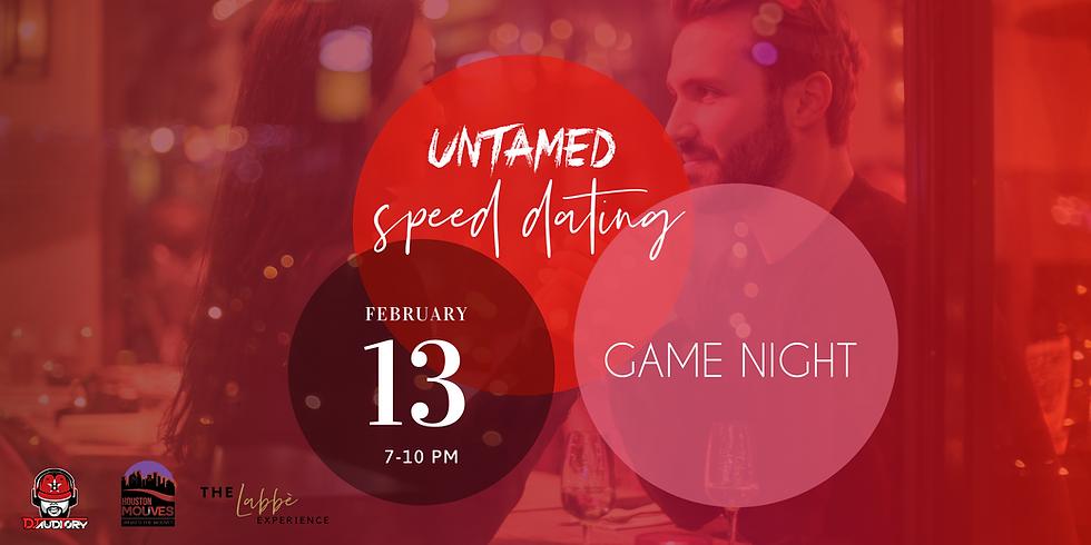 Untamed Nights Speed Dating & Game Night