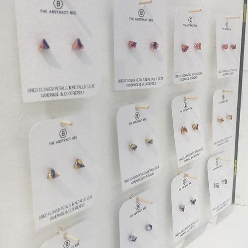 Abstract Bee Earrings