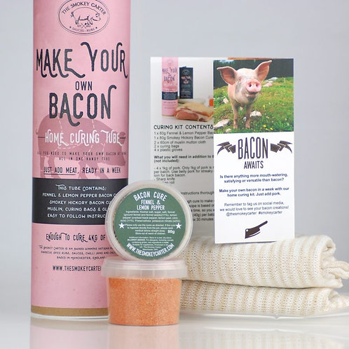 Make Your Own Bacon Curing Kit