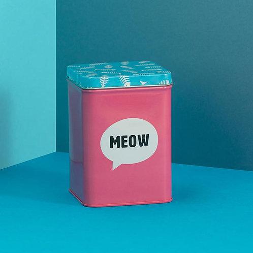 Cat Treats/Toys Tin