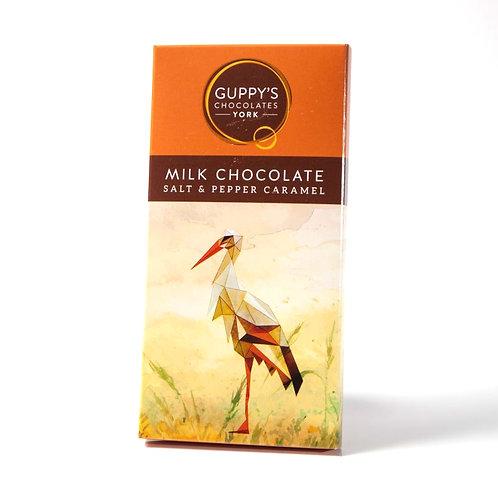 Milk Chocolate Salt & Pepper Caramel - 90g