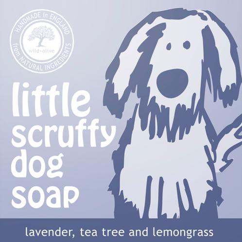 Little Scruffy Dog Soap