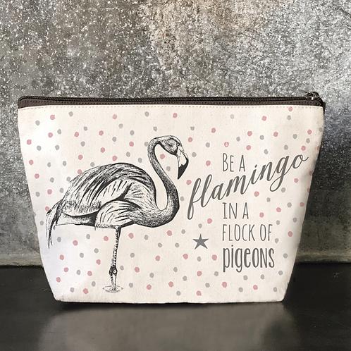 Be A Flamingo Cosmetics Bag