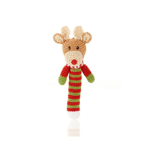 Reindeer Handmade Rattle