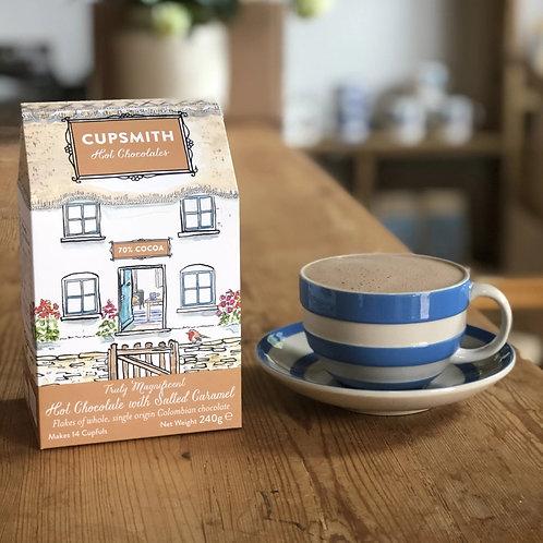 Hot Chocolate Flake House - Salted Caramel
