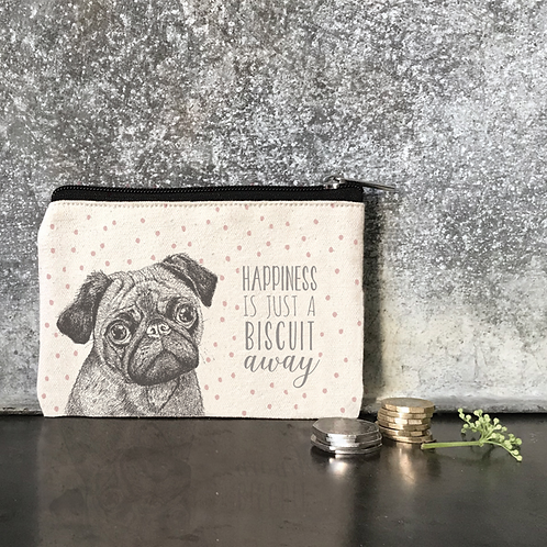 Happiness Is A Biscuit Cotton Purse