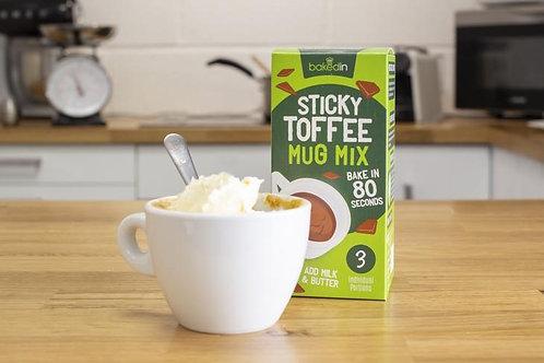 Sticky Toffee Mug Cake Mix - 3-Pack