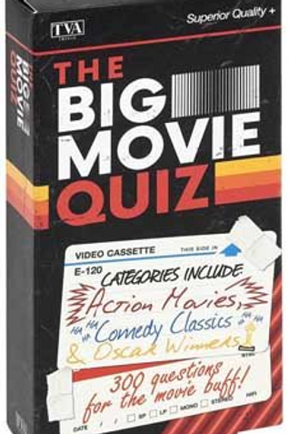 Big Movie Quiz