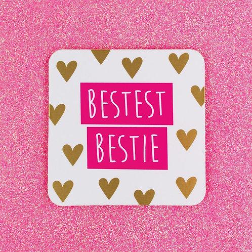 Bestest Bestie Coaster