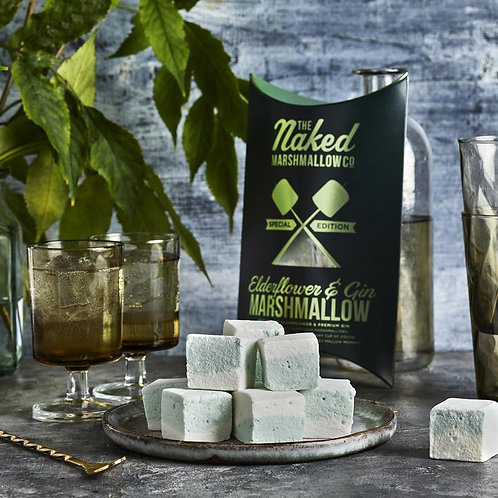 Elderflower & Gin Boozy Marshmallows
