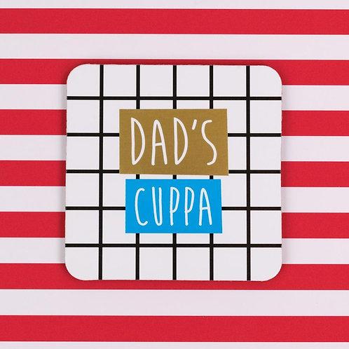 Dad's Cuppa Coaster