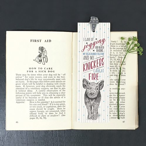 Knickers On Fire Bookmark