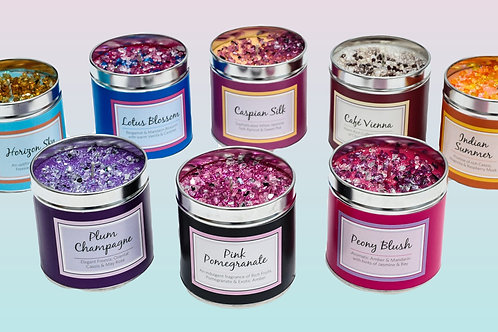 Sparkle Tin Candle