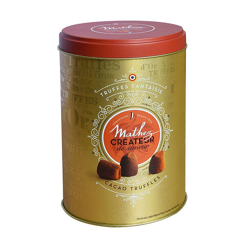 Cocoa Dusted Truffles Tin - 500g