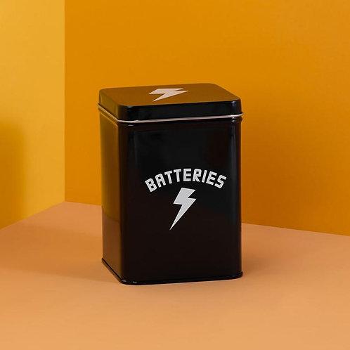 Batteries Tin