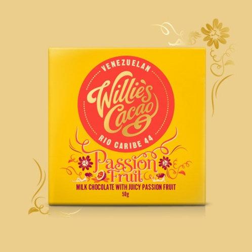 Passion Fruit Milk Chocolate - 50g