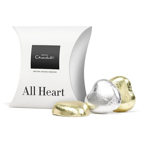 Hotel Chocolat Heart Pillow Box