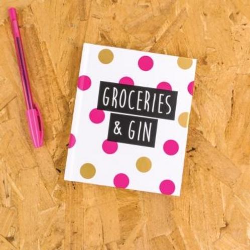 Groceries Notebook