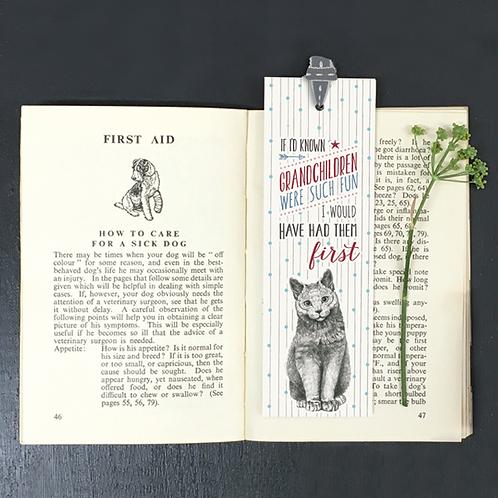 Grandchildren Bookmark