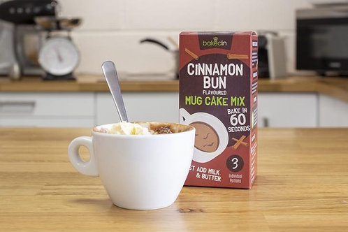 Cinnamon Bun Mug Cake Mix - 3-Pack