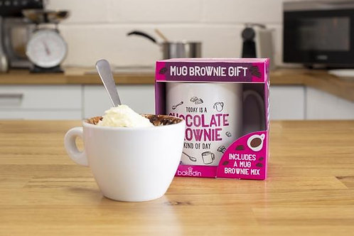 Chocolate Brownie Mug Gift Set