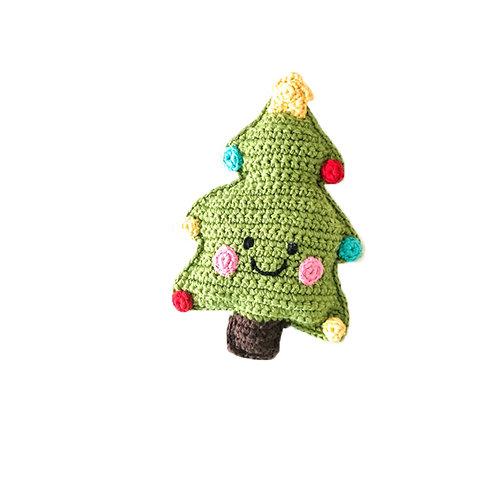 Christmas Tree Handmade Rattle
