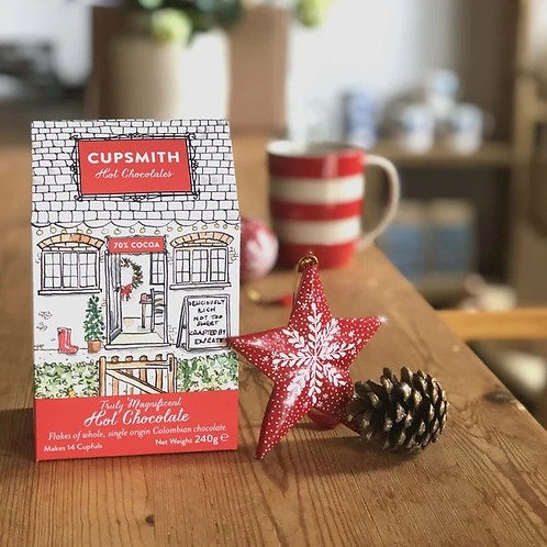 Hot Chocolate Flake House - Christmas