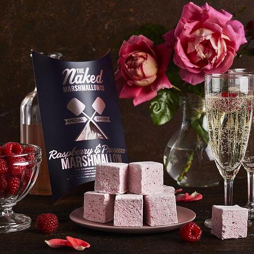 Raspberry & Prosecco Boozy Marshmallows