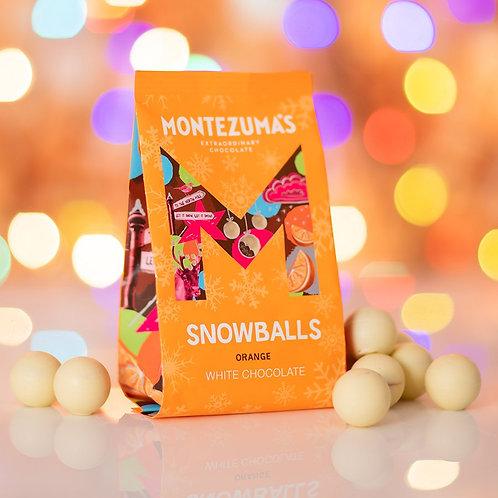 White Chocolate Orange Snowballs