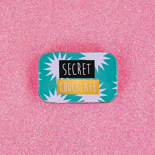 Secret Chocolate Tin