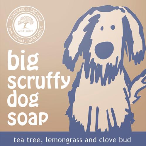 Big Scruffy Dog Soap