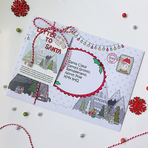 Letter to Santa Package