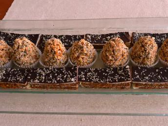 Grilážky s konopným semienkom