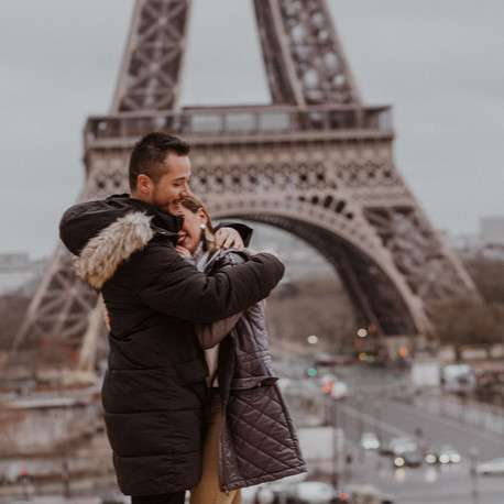 Best Surprise Marriage Proposal in Paris