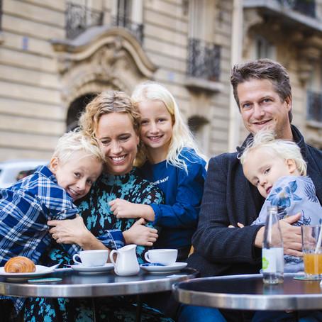Paris Family Photoshoot at 16 arrondissement