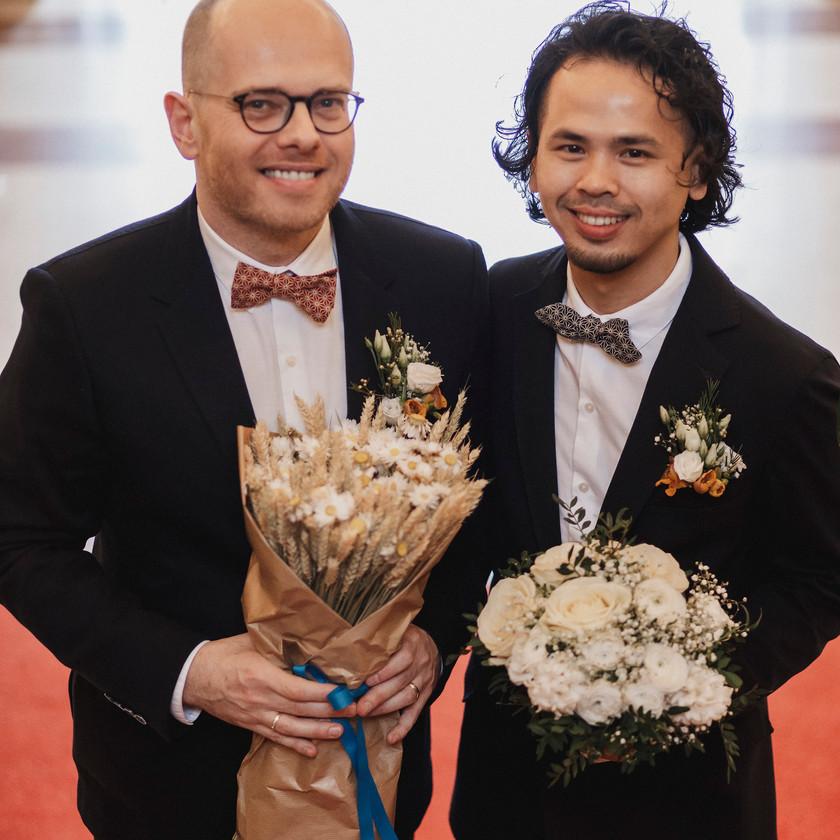 Beautiful gay couple
