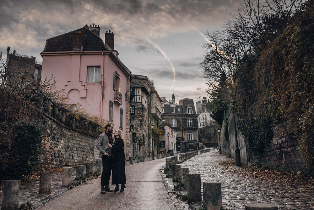couple photo at Montmartre
