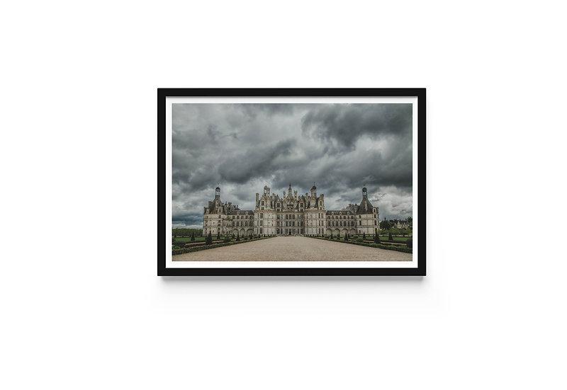 French Castle Fine Art Print