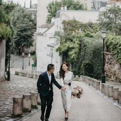 ảnh cưới độc đáo Paris