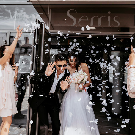 A Beautiful Wedding in Paris