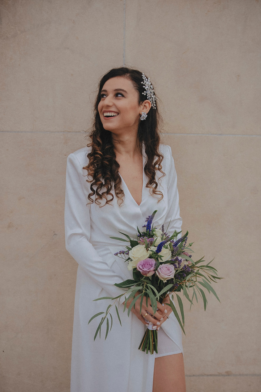 paris wedding photographer bride