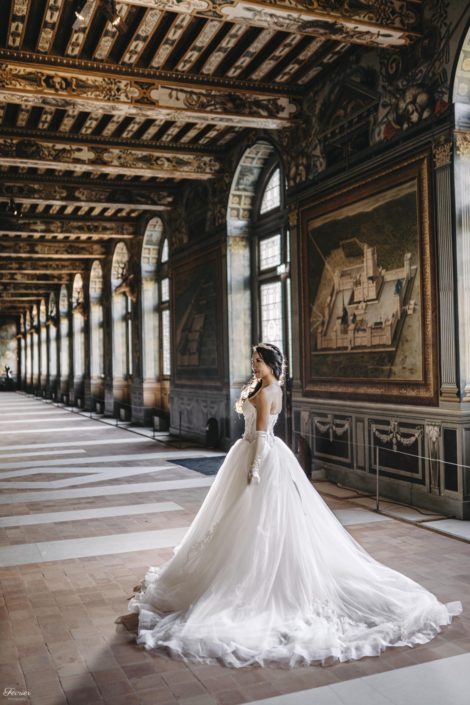 pre-wedding-hk-beautiful-bride-in-chateau-de-fontainebleau-paris