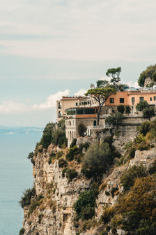 Amalfi Coast Wedding Photographer Sorento houses on the cliff