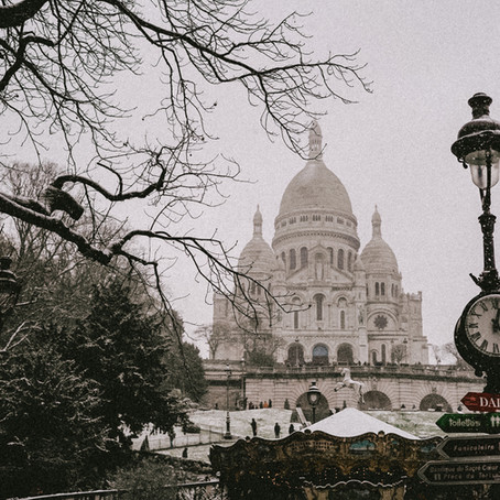 Snow in Paris 2021